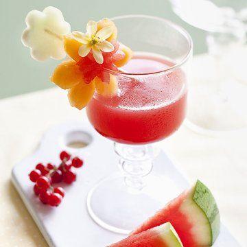 Une brochette de fruits fleuris / A brochette of flowery fruits