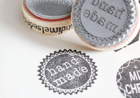 Hande made stamp.