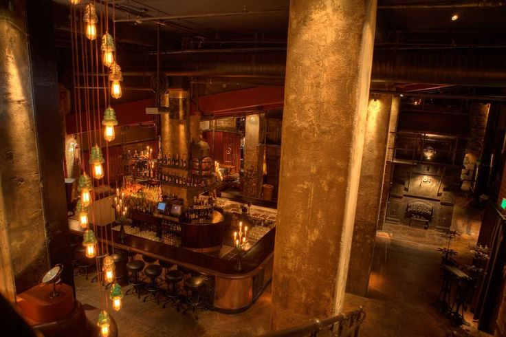 Edison Bar, LA - Stairs