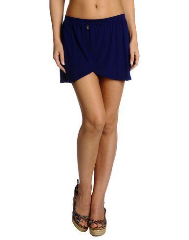 ¡Cómpralo ya!. GUESS BEACHWEAR Vestido de playa mujer. punto jersey, logotipo, monocolor, cintura normal , sin bolsillo , vestidoinformal, casual, informales, informal, day, kleidcasual, vestidoinformal, robeinformelle, vestitoinformale, día. Vestido informal  de mujer color azul marino de GUESS BEACHWEAR.