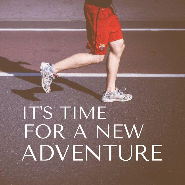 It's time for a new adventure. http://newestweightloss.com #weightloss #diet #weightlossmotivation #fitspo