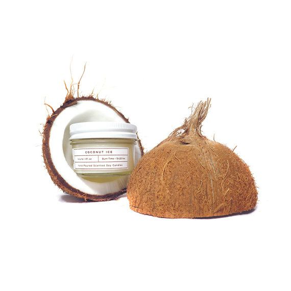 Scented Soy Candle Coconut 4oz