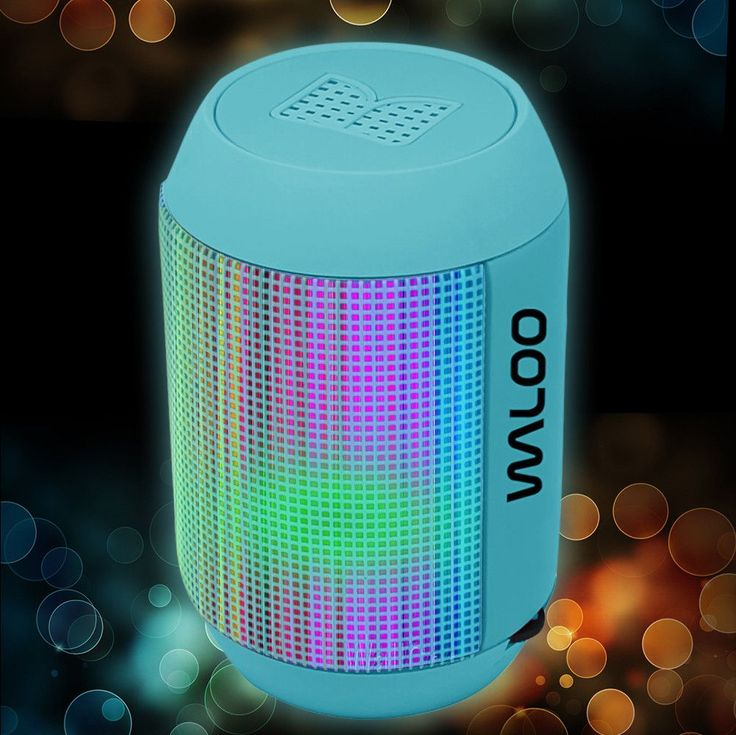 - Rich, LOUD and Crystal Clear HD stereo sound is delivered from 2 high quality drivers - 26 Dynamic LED lights that move to the music - 7 built-in preset modes - 5 hours of play and LED light effects