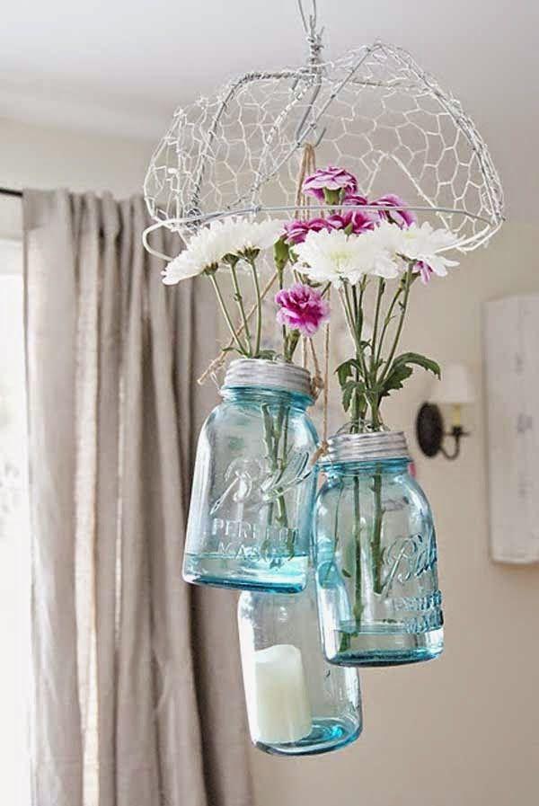 25 σούπερ ιδέες για κατασκευές με άδεια γυάλινα βάζα. {Μέρος Τρίτο}