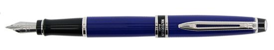 Waterman Expert French Blue Lacquer CT Fountain Pen