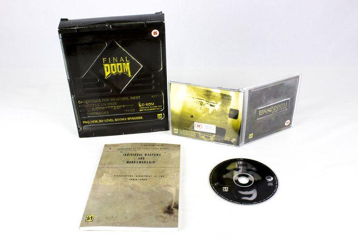 Final Doom for Windows 95 by id Software, Big Box, 1996, Sci-Fi / Futuristic