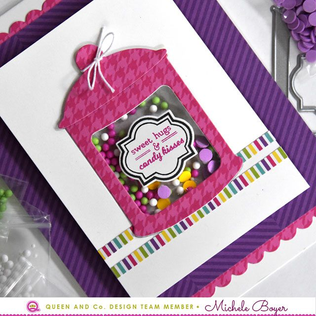 Another sample using the new super-sweet kit from @queenandcompany! (Link in profile) #queenandcompany #queenandcompanydt #shakercard #cardmaking #cards #stamping #papercrafting #papercrafts #cleanandsimple #diecut #diecutting #crafts #crafting #handmade #handmadecards #diy #scrap #scrapbooking