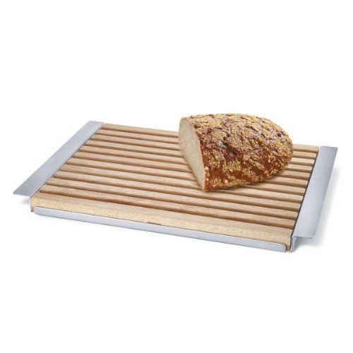 ZACK 20369 PANAS cutting board w.tray by Roden International. $120.47. Cutting board with tray. Stainless steel and wood. Dishwasher safe. Brushed finish. easy to clean. ZACK 20369 PANAS cutting board with tray . Elegant way to display your whole baguette and cheese.