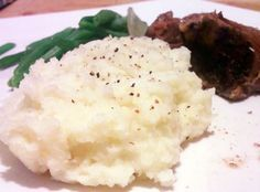 Super Simple Mashed Cauliflower for low carb, gastric bypass, paleo, healthy diets