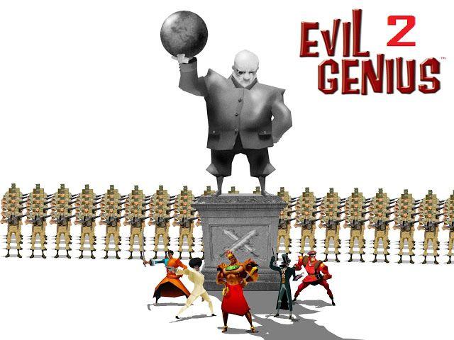 Evil Genius 2 : Une annonce au milieu d'un entretien