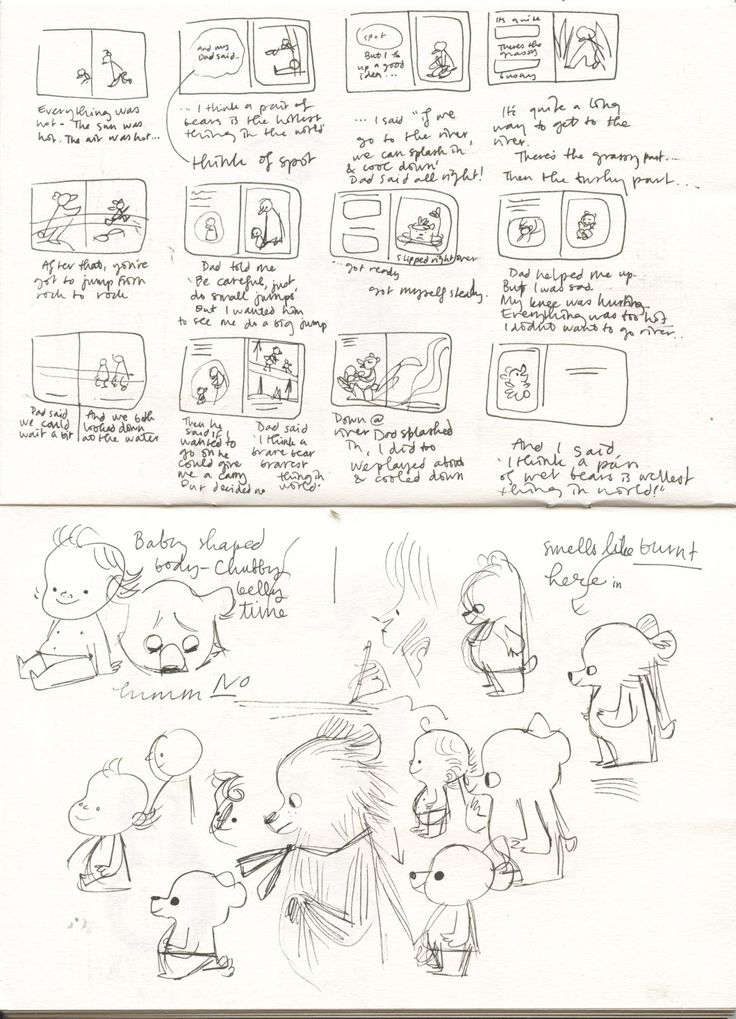 Best Picture Book Storyboards Images On   Picture