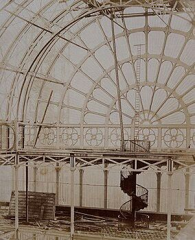 Inside The Crystal Palace!