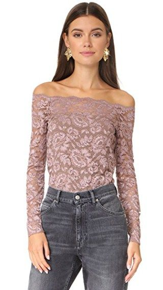 bdfe7d857b7fe0 Heidi Off Shoulder Lace Top in 2019 | LUX Woman | Lace, Off the ...