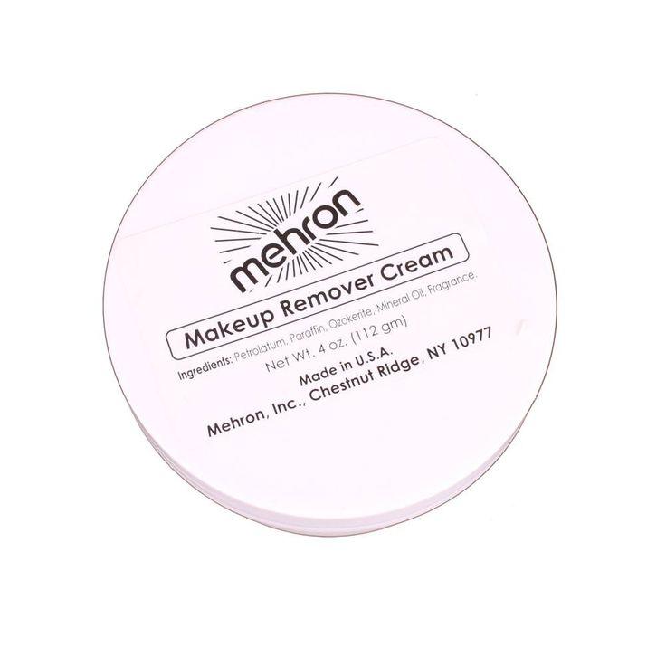 Mehron Makeup Remover Cream (4 oz)