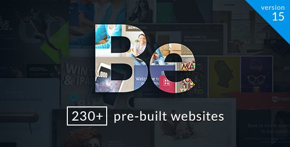 BeTheme - Responsive Multi-Purpose WordPress Theme, Be is full of different pre-built websites so you can easily import any demo website within seconds at 1 click