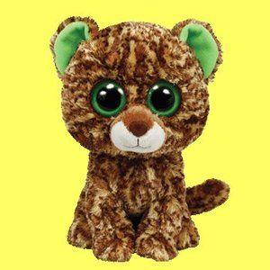 Rare Beanie Boos | Speckles the Leopard - Beanie Boos