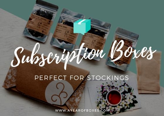 10 Subscription Boxes That Make The Perfect Stocking Stuffer! https://www.ayearofboxes.com/subscription-box-lists/10-subscription-boxes-that-make-the-perfect-stocking-stuffer/