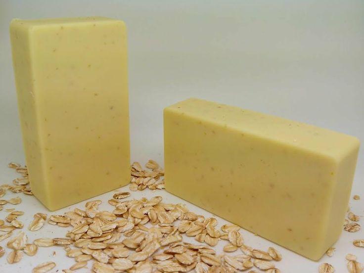 Come fare in casa un sapone Naturale all'Avena per pelle delicata e pelle sensibile -
