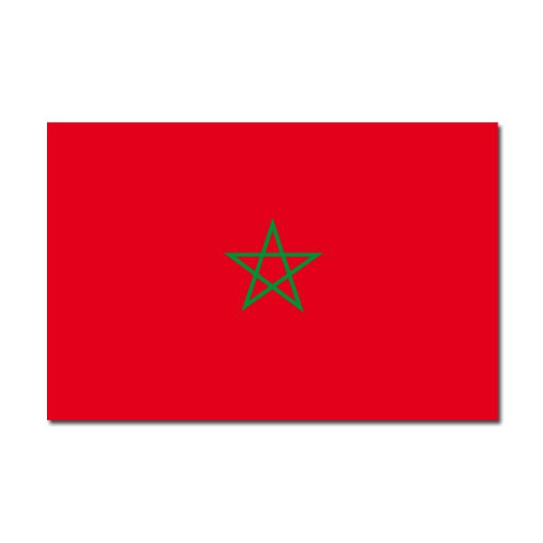 Pegatinas: bandera Marruecos #bandera #pegatina #TeleAdhesivo