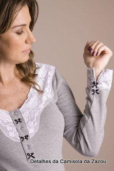 Novidades de Inverno 2011 da Zazou = Linha Homewear de Camisolas, Pijamas e Robes para Gestantes