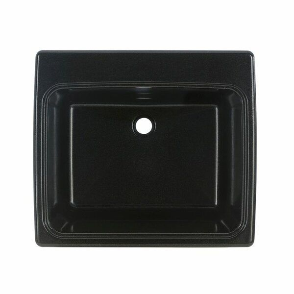 Solid Surface 25 X 22 Drop In Undermount Laundry Sink With