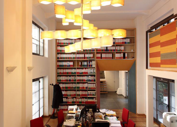 office in a loft