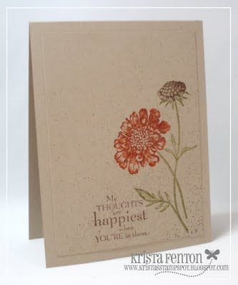 Stampin' Up: Field Flowers
