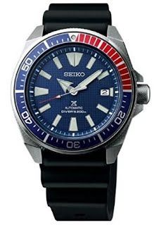 [Features & Benefits] Seiko Samurai Prospex Automatic Dive Watch with Black Silicone Strap 200 m SRPB53