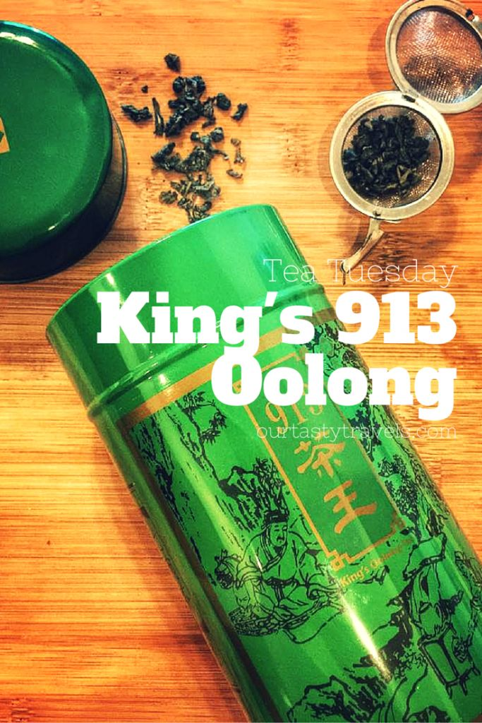 Ten Ren Tea's King's 913 Oolong - OurTastyTravels.com