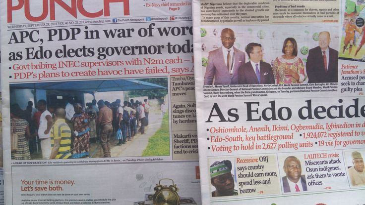 Read Nigerian Newspapers Online Today