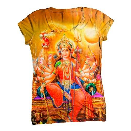 """India -""The Great Lion Durga"""" shirt"