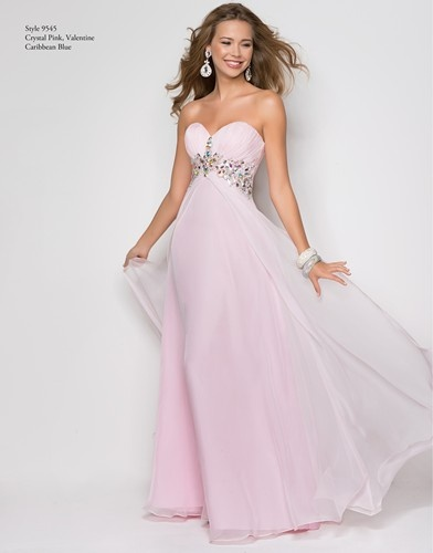 A fabulous pink prom dress by Blush Prom.