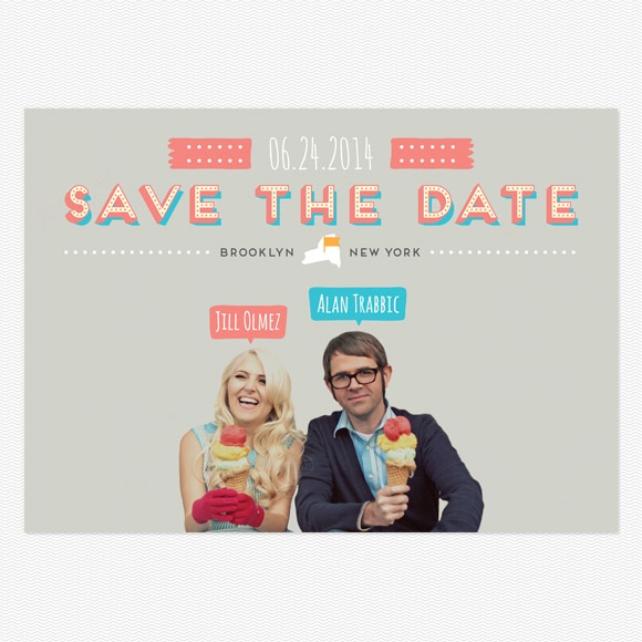 Gelato Save the Date