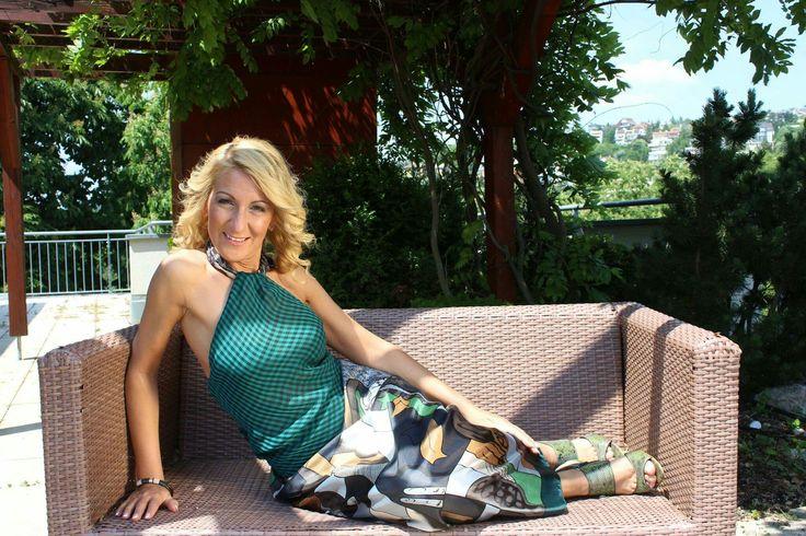 She is so hot 💄#MyDay  Makeup #Zuzka Makeup  Hair style #sunyfodrasz  Foto #anderdesign  Dress #viwine