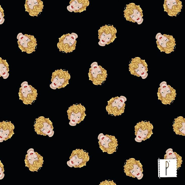 A estampa da Marilyn Monroe, de autoria de Zeka Andrade, disponível em diversos tecidos de algodão e poliéster. Confira em www.panolatras.com.br
