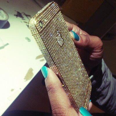 Bling bling iPhone case