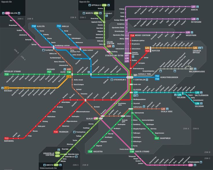 Best M A P Images On Pinterest Maps Rapid Transit And - Sweden metro map pdf