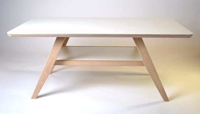 Haslev harmony sofabord - med laminat top med hylde