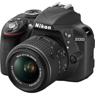 Digital Camera D3300 Kit Black 18-55 VR