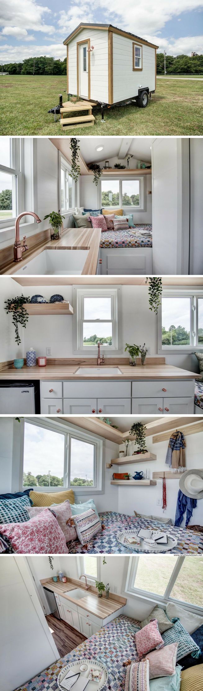 The Nugget: a micro tiny house with 102 sq ft of space!