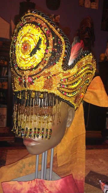 Ọmọ Esú Ọ̀dára: ASÍNDE : SOLD Crown for Oshun Ibu Kole (The Vulture)