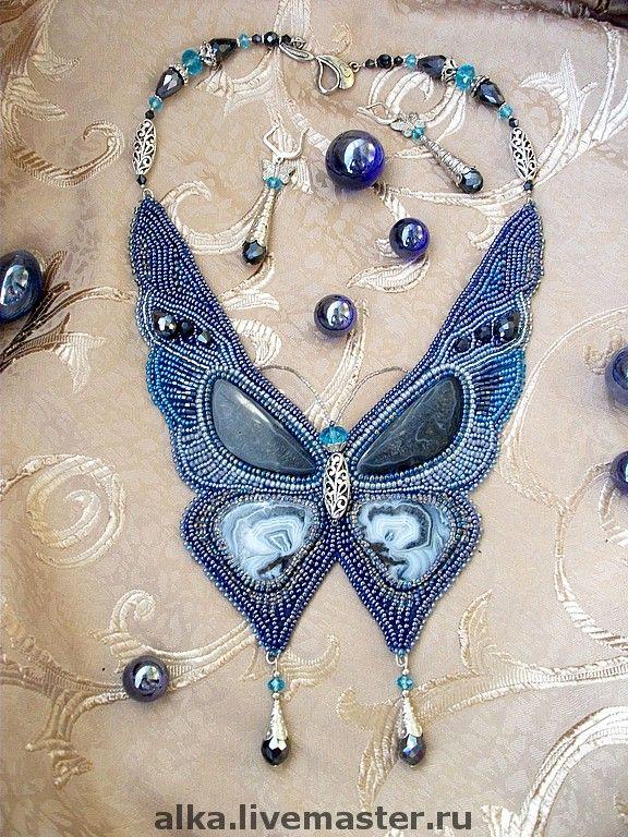 beaded butterfly, wow.