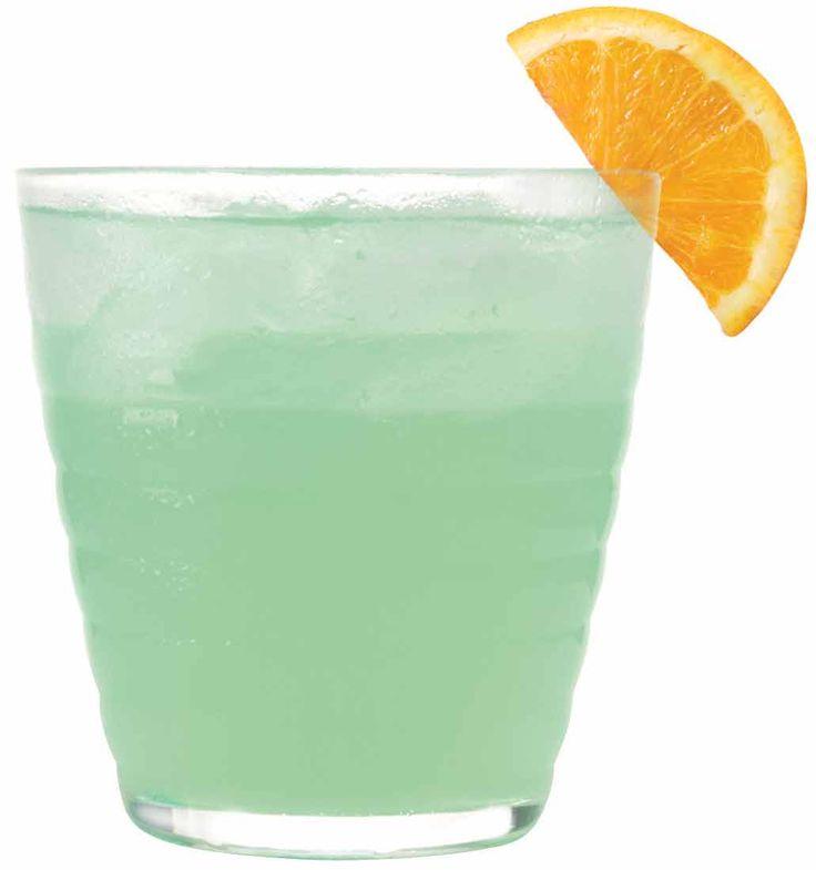 The Shamrocker  1 oz. 1800 Silver Tequila  1 oz. Melon Liqueur  1/2 oz. Triple Sec  Splash of Orange Juice  Mix with ice, and garnish with an orange slice
