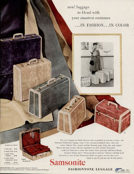 38 best Vintage Luggage images on Pinterest | Vintage luggage ...