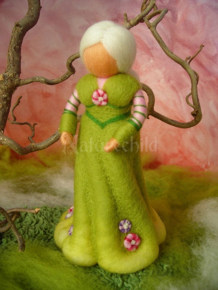 Standing Figures - felted work - Naturechild - a life handcrafted