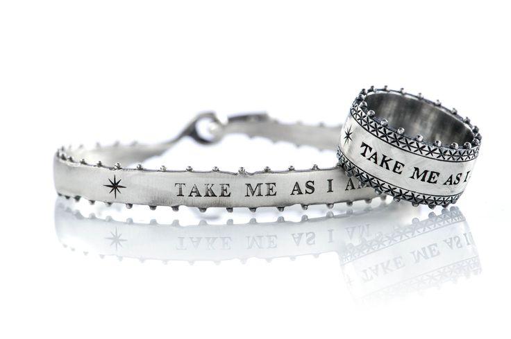Take me as I am! #jewels #ring #bangle #ottojewels