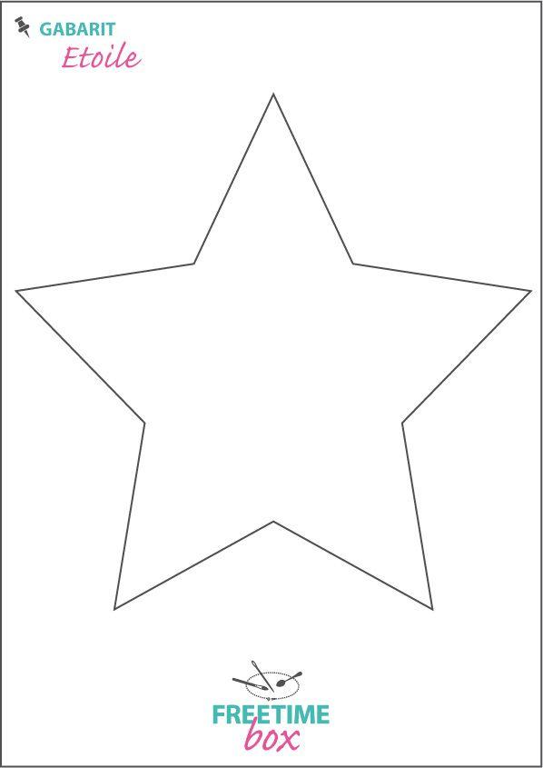 Tuto DIY - Pas à pas - Gabarit étoile pour customisation de pull