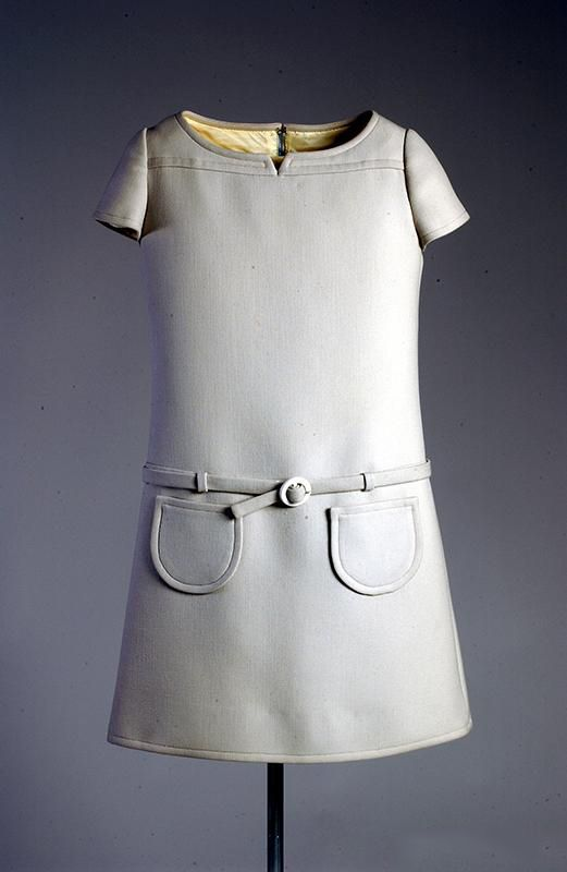 André Courrèges, Dress, 1968, Fashion Institute and Technology, New York