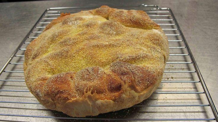 Craig Whitson er inspirert av Jim Lahey og hans brød som ikke trenger å knas. No-knead-bread. Godt brød med lite arbeid. Det er tiden som arbeider for deg. Brødet skal heve lenge, så du må tenke til neste dag når du lager dette.