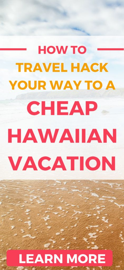 Discover how you can fly and stay in Hawaii for cheap. Travel hack your way to Hawaii on the smallest of budgets!